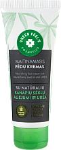 Parfémy, Parfumerie, kosmetika Vyživující krém na nohy s přírodním konopným olejem a ureou - Green Feel's Nourishing Food Cream
