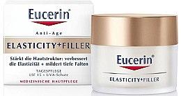 Parfémy, Parfumerie, kosmetika Denní krém proti stárnutí na obličej - Eucerin Hyaluron-Filler + Elasticity Day SPF15 Cream
