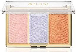 Parfémy, Parfumerie, kosmetika Paleta rozjasňovačů na obličej - Milani Stellar Lights Highlighter Palatte