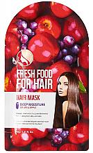 Parfémy, Parfumerie, kosmetika Hydratační maska na vlasy Jablko a hrozny  - Superfood For Skin Fresh Food For Hair