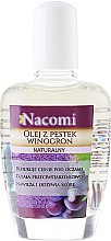 Parfémy, Parfumerie, kosmetika Olej na obličej a tělo z hroznových semen - Nacomi Natural