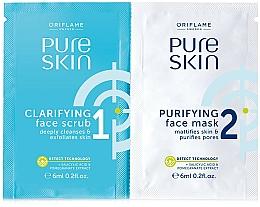 Parfémy, Parfumerie, kosmetika Peeling a čistící maska na obličej - Oriflame Pure Skin Face Scrub & Mask