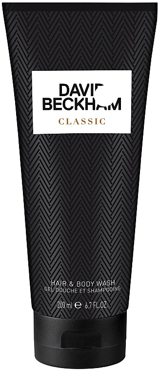 David Beckham Classic Hair & Body Wash - Šampon-gel pro sprchu — foto N1
