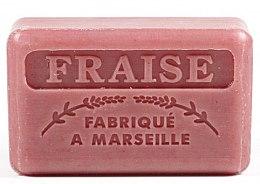 "Parfémy, Parfumerie, kosmetika Marseilleské mýdlo ""Jahoda"" - Foufour Savonnette Marseillaise Fraise"