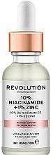 Parfémy, Parfumerie, kosmetika Sérum proti rozšířeným pórům - Revolution Skincare 10% Niacinamide + 1% Zinc
