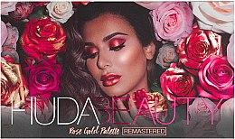 Parfémy, Parfumerie, kosmetika Paletka očních stínů - Huda Beauty Rose Gold Palette (Ruby)