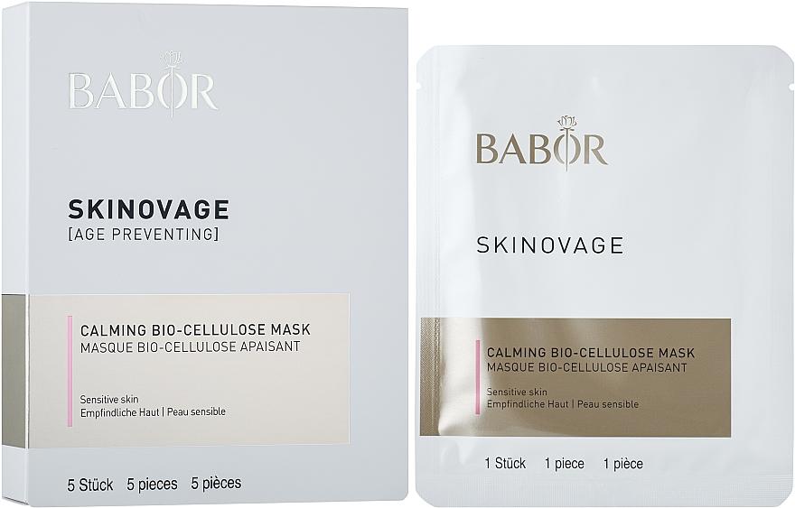 Biocelulární maska pro citlivou pleť - Babor Skinovage Calming Bio-Cellulose Mask — foto N1