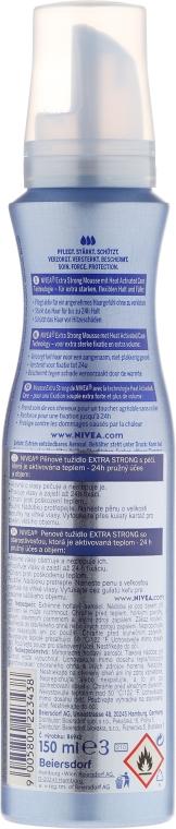 Pěna na vlasy - Nivea Extra Strong Styling Mousse — foto N2