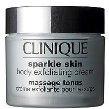 Parfémy, Parfumerie, kosmetika Tělový krém exfoliační - Clinique Sparkle Skin Body Exfoliating Cream