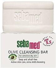 Parfémy, Parfumerie, kosmetika Mýdlo - Sebamed Olive Cleansing Bar
