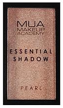 Parfémy, Parfumerie, kosmetika Oční stíny - MUA Essential Shadow Pearl (Sand Quartz)