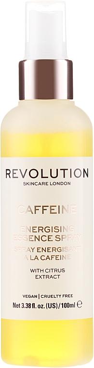 Sprej na obličej - Makeup Revolution Caffeine Energising Essence Spray