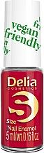 Parfémy, Parfumerie, kosmetika Lak na nehty - Delia Cosmetics S-Size Vegan Friendly Nail Enamel