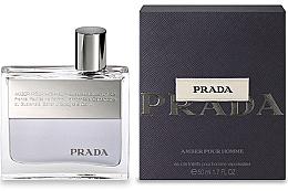 Parfémy, Parfumerie, kosmetika Prada Amber Pour Homme - Toaletní voda