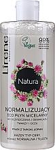 Parfémy, Parfumerie, kosmetika Normalizující micelární tekutina s tapiokovým pylem a lopuchovým extraktem - Lirene Natura