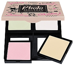 Parfémy, Parfumerie, kosmetika Kompaktní pudr pro obličej 2v1 - Wibo Photo Ready Press Powder