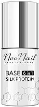 Parfémy, Parfumerie, kosmetika Báze pod gel lak 6v1 - NeoNail Professional Base 6in1 Silk Protein