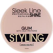 Parfémy, Parfumerie, kosmetika Gel na vlasy - Stapiz Sleek Line Styling Gum With Silk
