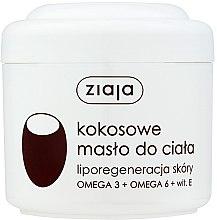 """Parfémy, Parfumerie, kosmetika Tělový olej """"Kokosový"""" - Ziaja Body Butter"""