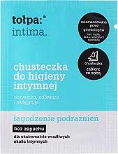 Parfémy, Parfumerie, kosmetika Ubrousky pro intimní hygienu uklidňující 1 ks - Tolpa Intima