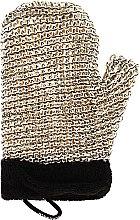 Parfémy, Parfumerie, kosmetika Pánská masážní rukavice - Suavipiel Black Men Sisal Glove