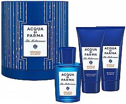 Parfémy, Parfumerie, kosmetika Acqua di Parma Blu Mediterraneo Arancia di Capri - Sada (edt/75ml + sh/gel/75ml + b/lot/75ml)