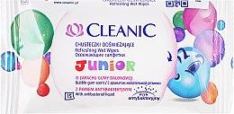 Parfémy, Parfumerie, kosmetika Dětské vlhčené ubrousky - Cleanic Junior Wipes