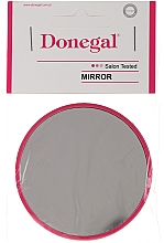 Parfémy, Parfumerie, kosmetika Kompaktní kulaté zrcátko, 7 cm, malinové - Donegal