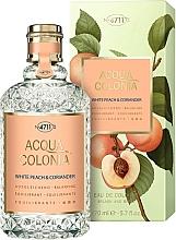Parfémy, Parfumerie, kosmetika Maurer & Wirtz 4711 Acqua Colonia White Peach & Coriander - Kolínská voda