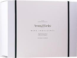 Parfémy, Parfumerie, kosmetika Sada - AromaWorks Men's Indulgence Gift Set (b/wash/300ml + aft/lotion/100ml + candle + flannel)