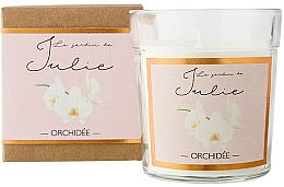 Parfémy, Parfumerie, kosmetika Aromatická svíčka Orchidej - Ambientair Le Jardin de Julie Orchidee