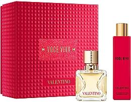 Parfémy, Parfumerie, kosmetika Valentino Voce Viva - Sada (edp/50ml + b/lot/100ml)
