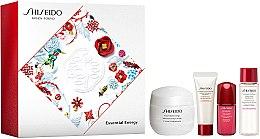 Parfémy, Parfumerie, kosmetika Sada - Shiseido Essential Energy Holiday Kit (cr/50ml + foam/15ml + f/lot/15ml + conc/5ml)