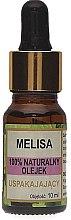"Parfémy, Parfumerie, kosmetika Přírodní olej ""Melissa"" - Biomika Melisa Oil"