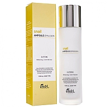 Parfémy, Parfumerie, kosmetika Hydratační emulze s mucinem hlemýžďů - Ekel Snail Ampoule Emulsion