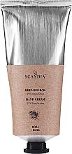 Parfémy, Parfumerie, kosmetika Krém na ruce Růže - Scandia Cosmetics Hand Cream 25% Shea Rose