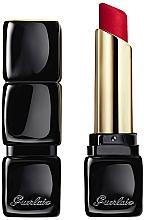 Parfémy, Parfumerie, kosmetika Dlouhotrvající rtěnka s matným efektem, 16 hodin pohodlí - Guerlain KissKiss Tender Matte Lipstick