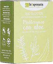 Parfémy, Parfumerie, kosmetika Mýdlo s extraktem aloe a olivovým olejem - La Saponaria Aloe Soap