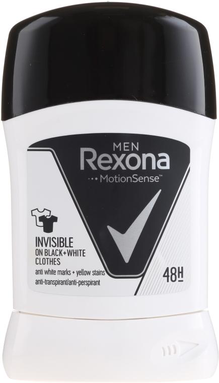 """Deodorant v tyčince pro """"Černé a bílé"""" - Rexona Men Deodorant Stick"""
