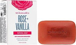 Parfémy, Parfumerie, kosmetika Mýdlo - Schmidt's Naturals Bar Soap Rose Vanilla