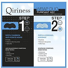 Parfémy, Parfumerie, kosmetika Náplasty na nos - Qiriness Purifiant Nez 2-Step Nose Patches