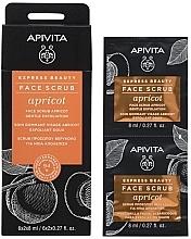 Parfémy, Parfumerie, kosmetika Pleťový peeling s meruňkou - Apivita Express Beauty Face Scrub Apricot