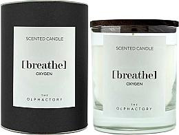 Parfémy, Parfumerie, kosmetika Aromatická svíčka - Ambientair The Olphactory Black Design Breathe Oxygen