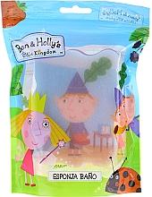 """Parfémy, Parfumerie, kosmetika Dětská koupelová houba """"Ben a Holly"""", modro-červená - Suavipiel Ben & Holly Bath Sponge"""