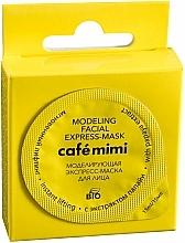 """Parfémy, Parfumerie, kosmetika Modelovácí express-maska na obličej """"Okamžitý Lifting"""" s extraktem z papáji - Cafe Mimi Modeling Facial Express-Mask"""