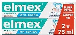 Parfémy, Parfumerie, kosmetika Sada - Elmex Professional Sensitive Whitening Teeth (toothpaste/2x75ml)