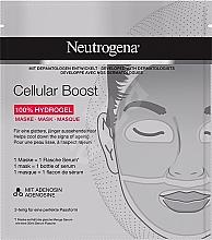 Parfémy, Parfumerie, kosmetika Hydrogelová pleťová maska - Neutrogena Cellular Boost 100% Hydrogel Mask