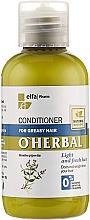 Parfémy, Parfumerie, kosmetika Balzám-kondicionér pro mastné vlasy s výtažkem z máty - O'Herbal