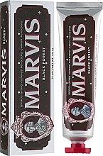 Parfémy, Parfumerie, kosmetika Zubní pasta Černý les - Marvis Black Forest