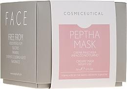 Parfémy, Parfumerie, kosmetika Noční krémová maska na obličej a krk s brusinkovým extraktem - Surgic Touch Peptha Mask